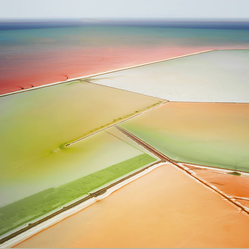 Saltern Study 06, Great Salt Lake, UT, 2015 (© David Burdeny)
